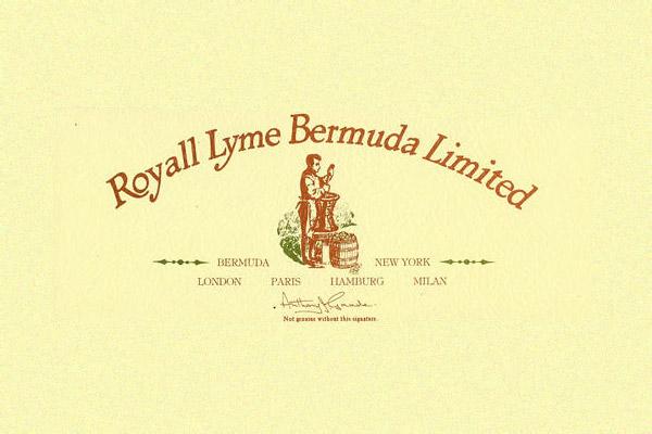 Royall Lyme Bermuda fragrance company