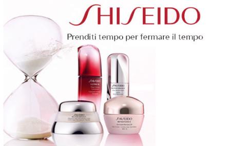 Promozione Shiseido Time 4 Beauty