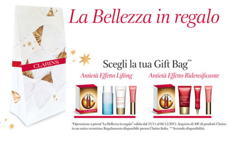 Clarins La Bellezza in Regalo