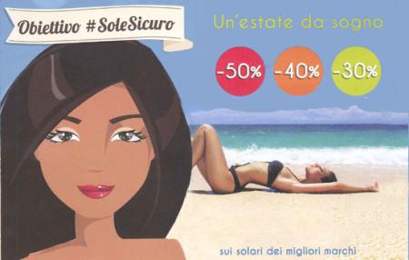 Obiettivo Sole Sicuro Estate 2016