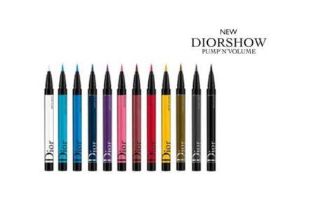 Dior Diorshow Pump'n' Volume e Eyeliner On Stage